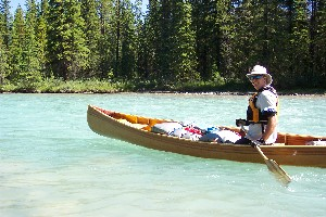 Me, and my canoe...